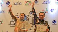 Pemkot Tangerang sabet dua penghargaan dalam AMH 2018. (foto: Pemkot Tangerang)