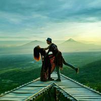Punthuk Mongkrong, Magelang, Jawa Tengah. (Sumber Foto: yo.jie/Instagram)