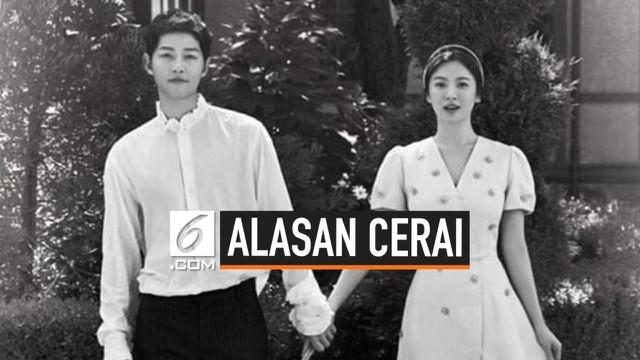 Song Hye Kyo menulis sebuah surat berisi tentang alasan perceraiannya dengan Song Joong Ki. Perceraian SongSongCouple disambut kesedihan oleh penggemarnya.