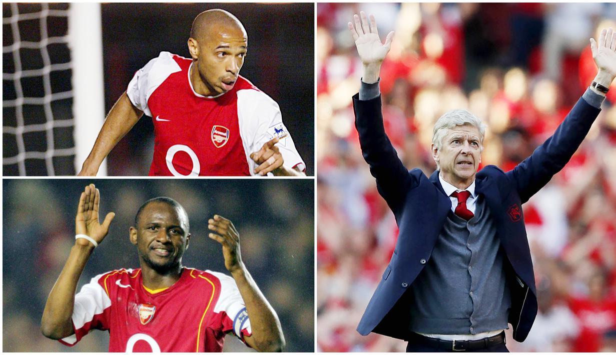 Arsenal pernah berada di era kejayaan bersama Arsene Wenger pada era 2000-an. Yang Paling ikonik adalah menjadi satu-satunya klub yang meraih gelar juara Premier League tanpa pernah kalah sekalipun. Berikut para pemain bintang The Gunners kala itu.