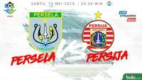 Liga 1 2018 Persela Lamongan Vs Persija Jakarta (Bola.com/Adreanus Titus)