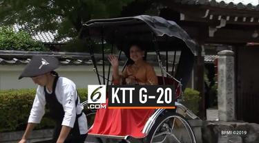 Ibu Iriana Kunjungi Kuil Bersejarah di Kyoto pada Jumat 28 Juni 2019. Ia mengikuti berbagai kegiatan, saat dirinya mendampingi Presiden Joko Widodo di Konferensi Tingkat Tinggi (KTT) G20 di Osaka, Jepang.
