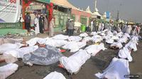 Korban tragedi Mina. (Arab News)