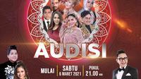 Tayangan Audisi LIDA 2021 hadir setiap malam di Indosiar, mulai Sabtu 6 Maret 2021 pukul 21.00 WIB bersama dewan juri seleb dangdut terkenal dan host Ramzi, Jirayut dan Rara LIDA