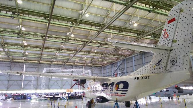 Pesawat N219 Nurtanio (Foto:Liputan6.com/Tommy Kurnia)#source%3Dgooglier%2Ecom#https%3A%2F%2Fgooglier%2Ecom%2Fpage%2F%2F10000