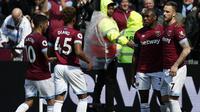 5. West Ham - £93 juta, Transfer terbesar, Issa Diop £25 juta (AFP/Ian Kington)