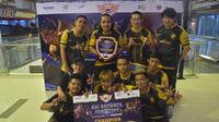 Tim Recca Esports menjadi juara nomor Mobile Legends pada turnamen esports KAI Esports Goes to Jakarta 2019, di Stasiun BNI City, Jakarta.  (FOTO / Ist KAI Esports)