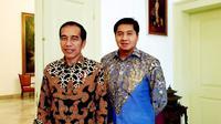 Maruarar Sirait bersama Presiden Joko Widodo