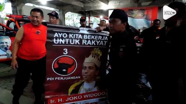 DPC PDI-P Kabupaten Semarang menyisir poster Jokowi berkostum raja di sejumlah kecamatan. Belum diketahui siapa yang memasang poster tersebut