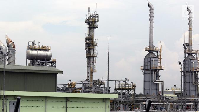 Suasana Sungai Kenawang Gas Plant di desa Kali Berau, Bayung Lencir, Kabupaten Musi Banyuasin, Sumatera Selatan, Sabtu (9/2). Sungai Kenawang Gas Plant merupakan salah satu fasilitas produksi di WK Jambi Merang. (Liputan6.com/Helmi Fithriansyah)#source%3Dgooglier%2Ecom#https%3A%2F%2Fgooglier%2Ecom%2Fpage%2F%2F10000