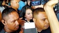 Kuasa hukum Vanessa Angel, Milano Lubis menyampaikan bahwa kliennya tidak langsung pulang ke Jakarta. (Foto: Liputan6/Dian Kurniawan)