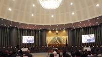Proses pemilihan Wakil Ketua Mahkamah Agung bidang nonyudisial (Merdeka.com/ Hari Ariyanti)