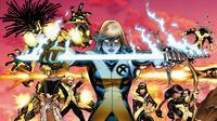 New Mutants yang merupakan bagian dari kisah X-Men. (vixenvarsity.com)