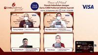 Konferensi Pers Peace of Mind: Penuhi Kebutuhan dengan Kartu CIMB Niaga Preferred Infinite Syariah pada Kamis (16/09) (Dok. CIMB Niaga)