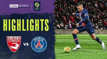 Berita video highlights Ligue 1, Kylian Mbappe cetak dua gol saat PSG Kalahkan Nimes 4-0