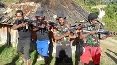 Kembali Berulah, KKB Tembak 2 Warga Papua di Ilaga