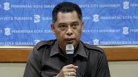 Kepala Badan Penanggulangan Bencana (BPB) dan Linmas Kota Surabaya, Eddy Christijanto, (Foto: Liputan6.com/Dian Kurniawan)
