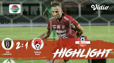 Laga lanjutan #shopeeliga1, #Bali United vs #Kalteng Putra pada hari Minggu malam (29/09/2019) berakhir  dengan skor 2-1.