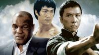 Donnie Yen berakting dengan mantan petinju Mike Tyson dan mendiang Bruce Lee di film Ip Man 3. (ignimgs.com)