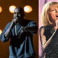 Kanye West & Taylor Swift (AFP/Bintang.com)