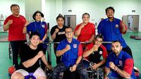 Skuad Angkat Berat DKI Jakarta Menuju PON Papua. (Istimewa)