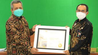 Pemerintah Kota Tarakan Raih Penghargaan BKN Award 2021