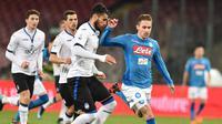 Napoli takluk 0-1 dari Atalanta pada perempat final Coppa Italia 2017-20118 di San Paolo, Selasa (2/1/2018) atau Rabu (3/1/2018) dini hari WIB. (Twitter Napoli)