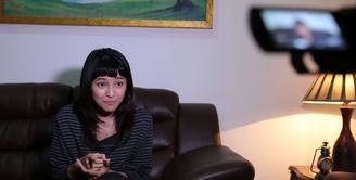 Anies Baswedan dan Sandiaga Uno Senin (16/10/2017) resmi dilantik menjadi Gubernur DKI Jakarta. Banyak harapan masyarakat Jakarta dengan adanya Gubernur baru tersebut. Begitu juga dengan Marshanda. (Deki Prayoga/Bintang.com)