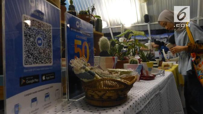 Salah satu merchant di Pop Market. (Liputan6.com/ Wisnu Wardhana)
