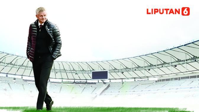 Manajer Manchester United (MU) Ole Gunnar Solskjaer. (Liputan6.com/Abdillah)