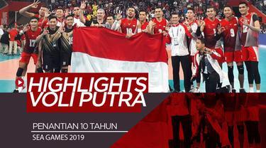 Berita video highlights voli putra Indonesia vs Filipina pada SEA Games 2019.