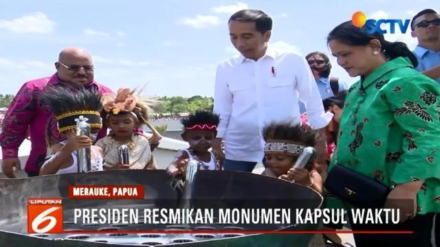 Monumen Kapsul Waktu yang diresmikan berbentuk seperti markas Avengers yang futuristik dijadikan tempat menyimpan tujuh mimpi anak Indonesia dari 34 provinsi yang akan dibuka pada tahun 2085.