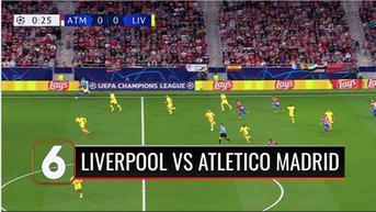 VIDEO: Mohamed Salah Buka Gol, Liverpool Menang Tipis atas Atletico Madrid 3-2