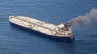 Kapal tanker milik Sri Lanka ini sempat mengeluarkan panggilan darurat setelah ledakan ruang mesin yang menewaskan seorang anggota awak asal Filipina (AFP)