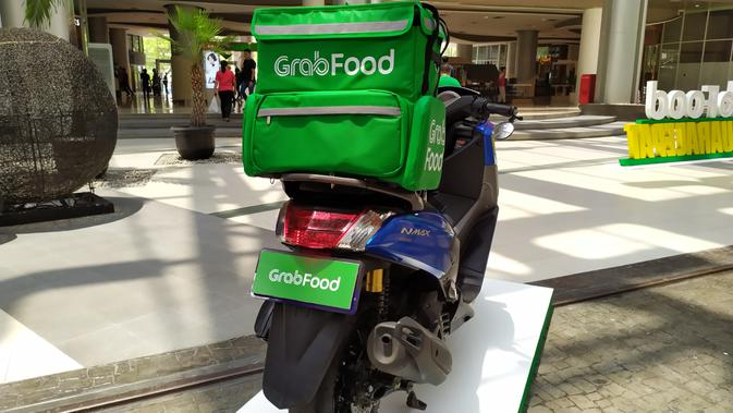 Layanan GrabFood di Indonesia terus tumbuh (Liputan6.com/Agustinus M.Damar)