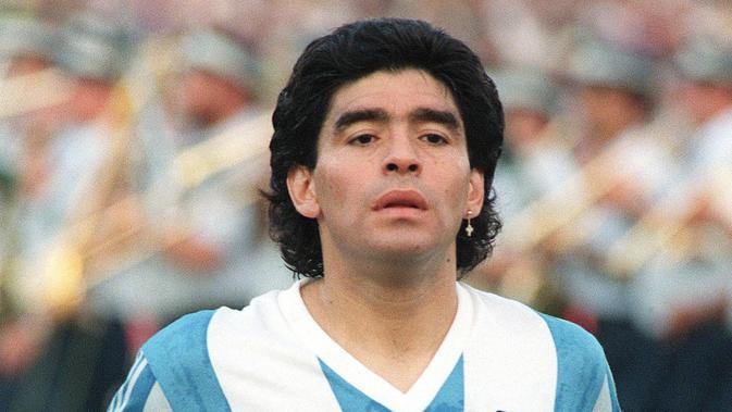 Diego Maradona. (AFP/Sven Nackstrand)