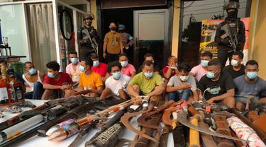 50 Orang Diamankan dari Kampung Ambon