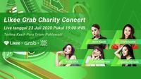 Likee Grab Charity Concert (dok. Istimewa)