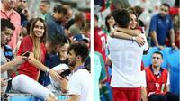 Lisa Goncalves dan Andre Gomes (Instagram @andreFgomes30)