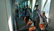Selesainya rangkaian penerbangan  haji ole oleh Garuda Indonesia ditandai dengan mendaratnya kloter 19, debarkasi Banjarmasin GA 8602, di Banjarmasin pada hari ini, Senin (16/09/2019).