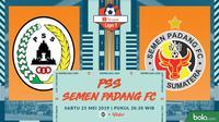Shopee Liga 1 - PSS Sleman Vs Semen Padang FC (Bola.com/Adreanus Titus)