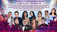 Semarak Indosiar Bandung digelar Sabtu (5/12/2020) pukul 20.00 WIB live dari Studio EMTEK City, Jakarta Barat