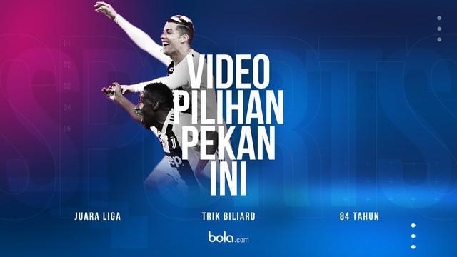Berita video pilihan pekan ini mulai dari Juventus dan PSG yang merayakan keberhasilan menjadi juara liga hingga seorang penggemar basket berusia 84 tahun.