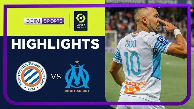 Berita Video, Highlights Pertandingan Marseille Vs Montpellier di Ligue 1 Musim 2021/2022 pada Senin (9/8/2021)