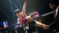 Atlet tarung bebas asal Tiongkok, Xiong Jing Nan. (foto: onefc.com)