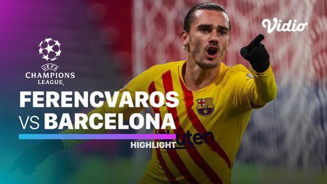 Berita video, Barcelona raih kemenangan telak atas Ferencvaros di matchday kelima Liga Champions 2020/2021