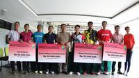 PP PBSI kucurkan bonus kepada atlet-atlet berprestasi di Kejuaraan Dunia 2015 (PBSI)