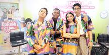 [Fimela] Naura dan Devano Danendra rilis DVD Doremi and You. (Bambang E Ros/Fimela.com)