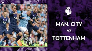 Berita video statistik Manchester City vs Tottenham Hotspur pada laga pekan ke-2 Premier League 2019-2020, Sabtu (17/8/2019) di Etihad Stadium.
