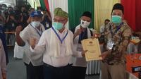 Berkas Akhyar-Salman dinyatakan lengkap dan memenuhi persyaratan oleh Komisi Pemilihan Umum (KPU) Medan.